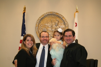 Adoption finalization Good Friday, April 6, 2012.
