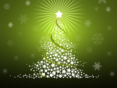 green-christmas-background-pictures