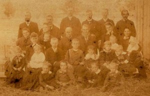 Iloff family in 1880s