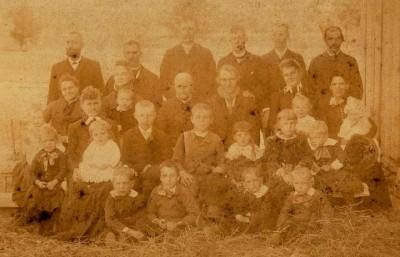 Iloff family in 1880s