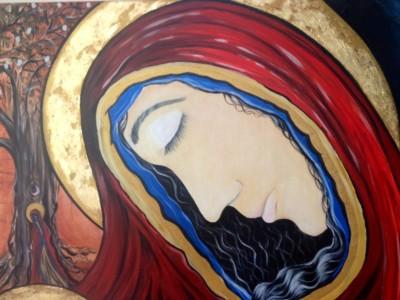 jassy Panagia Mary closeup