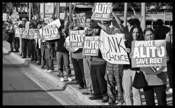 Oppose Alito, Roe v. Wade