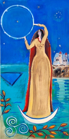 Arianrhod-Celtic-sky-goddess-painting-by-judith-shaw