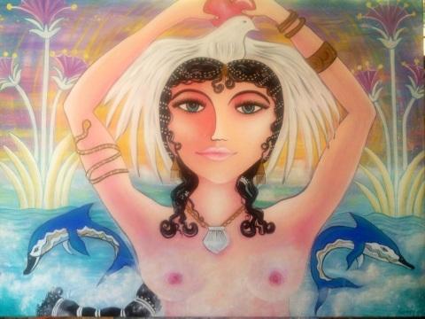 Aphrodite Copyright Jassy Watson 2013