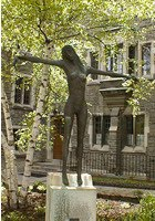 Crucified Woman at Emmanuel College