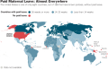 Maternity Leave, U.S., Mothers, Babies, Unequal Rights in the U.S.