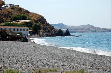 Eftalou beach, Lesbos, Greece