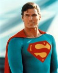 """Christopher Reeves as """"Superman."""""""