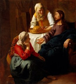 Christ in the House of Martha and Mary c. 1654-1655 National Gallery of Scotland, Edinburgh