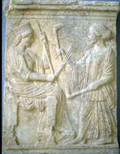 demeter and persephone, eleusis