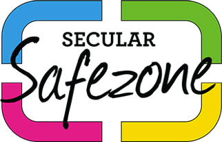 Logo for the Secular Safe Zone Project