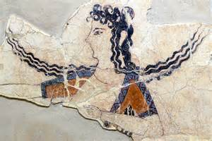 minoan woman dancing