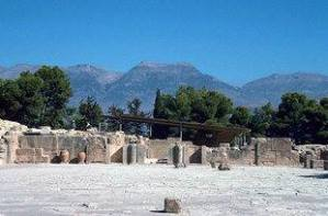 Mount Ida from Phaistos