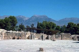Mount Ida from Phaistos