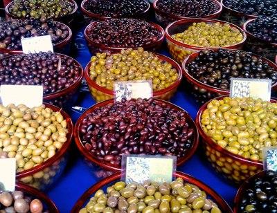 varieties of olives