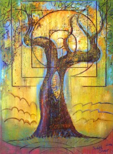 The Olive Tree painting by Judith Shaw