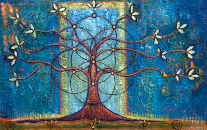 The Tree of Life painting by Judith Shaw