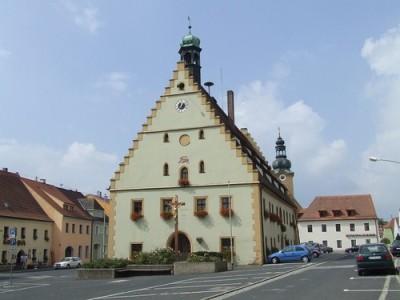 Hirschau town church