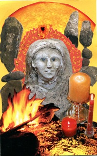 SoulCollage® card of Brigid