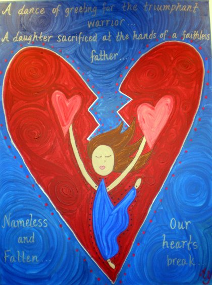 Painting Jephthah's Daughter  Rev. Dr. Angela Yarber