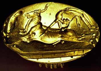 bull leaping ring before 2000 bc phourni