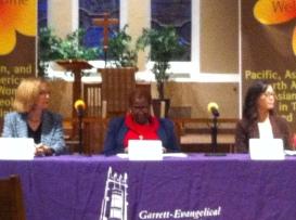 Pictured (left to right): Dr. Nancy Bedford, Rev. Dr. Gennifer Brooks, Rev. Emily McGinley