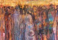 Ancestral Gathering, painting by Judith Shaw