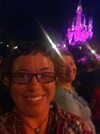 My mother and I at Disney in October.