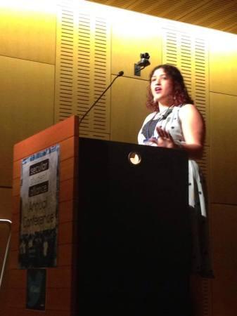 Heina speaking at SSA