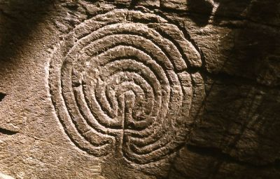 Rocky Valley Labyrinth, Tintagel, Cornwall, UK