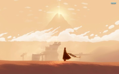 """Journey wallpaper,"" image retrieved from: http://www.superbwallpapers.com/games/journey-15097/, accessed on June 2, 2014"