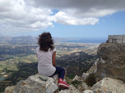 Goddess Pilgrim on Mount Juctas