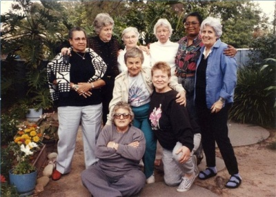 OLOC Founders, Santa Barbara, CA, 1990 Photo credit: Cristina Vegas