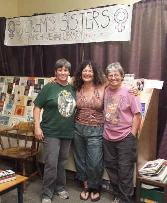 People Called Women Steinem's Sisters (Archives and Lending Library) Photo by: Megan Morris