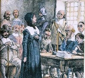 anne hutchinson trial