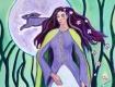 cerridwen, celtic goddess painting by Judith Shaw