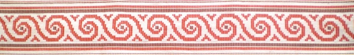 Cretan spiral weaving