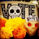 Dia De Los Muertos Celebration, LA, photo by Lalo Alcaraz of NBC Latino, image sourced from: http://nbclatino.com/2012/11/02/photos-dia-de-los-muertos-celebrations-around-the-world/#s:21196_448423481871042_653039052_n, Accessed Nov. 2014