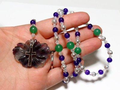 rosary- jewel stones