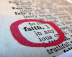 "Dictionary Card, ""Faith,"" image sourced here, accessed Jan. 2015"