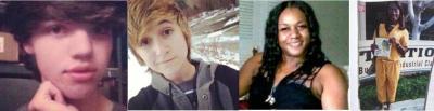 Leelah Alcorn, Ash Haffner, Aniya Knee Parker, Yaz'min Shancez