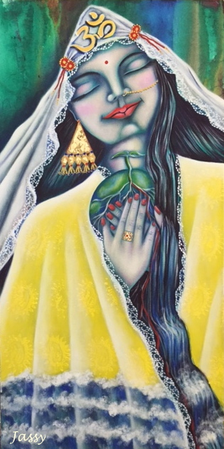 Green Tara by Jassy Watson