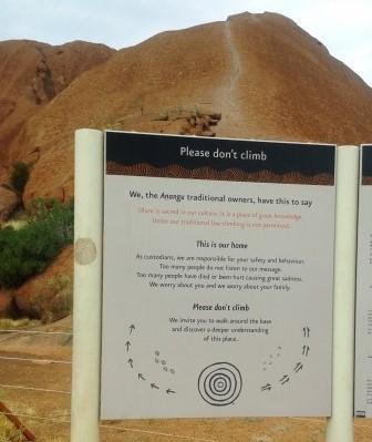 Uluru Climb 1