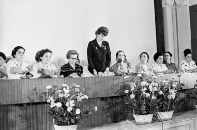 Valentina Tereshkova, the first woman cosmonaut