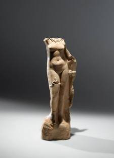 Votive Aphrodite Figurine Discovered in the El-Wad Cave, Mount Carmel dated to approximately 1st-2nd CE Image & information courtesy of The Israel Museum, Jerusalem (www.imj.org.il/en)