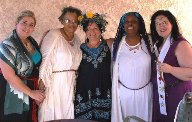 ordaining priestesses, scribe and guardian