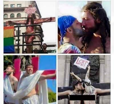 Gay Pride Jesus