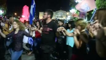 Greece celebrates no more austerity vote