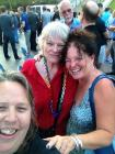 Marie & friends at Long Beach, CA celebrations of the Obergefell decision