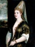 Portrait of Roxelana by Tizian